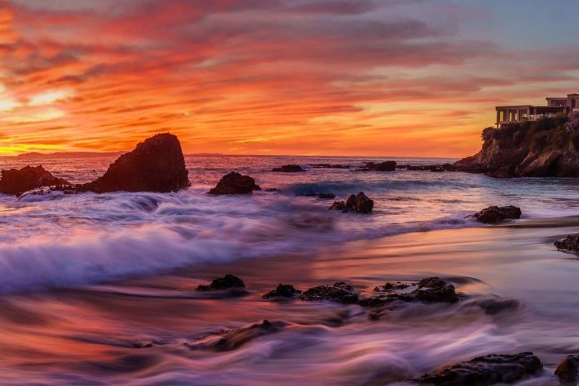 How to Find the Right Composition - Amazing Laguna Beach Sunset! - YouTube
