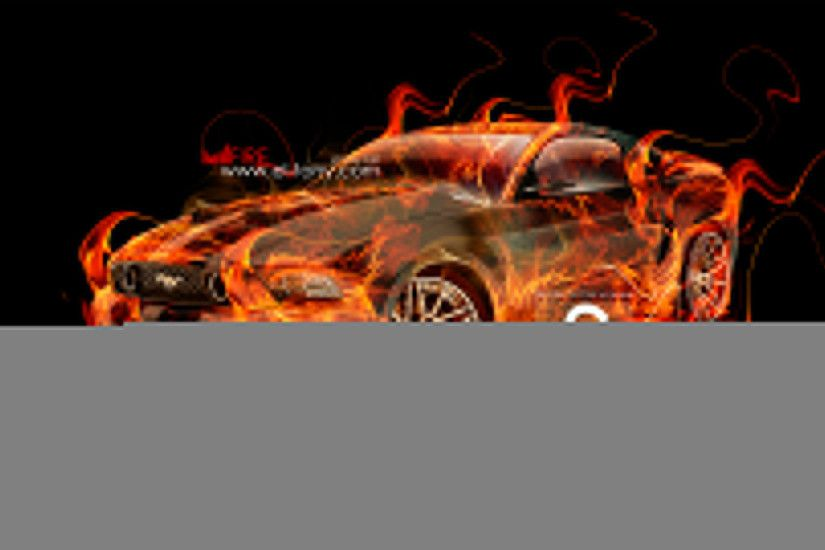 Wallpapers Flaming Blue Skull Mustang Fire Car Muscle Abstract Art Hd  Design By 1920x1080 | #1382589 #flaming ...