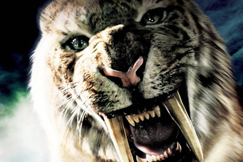 Movie - 10,000 BC Wallpaper. Download! Next Wallpaper · Prev Wallpaper. Saber  Tooth Tiger