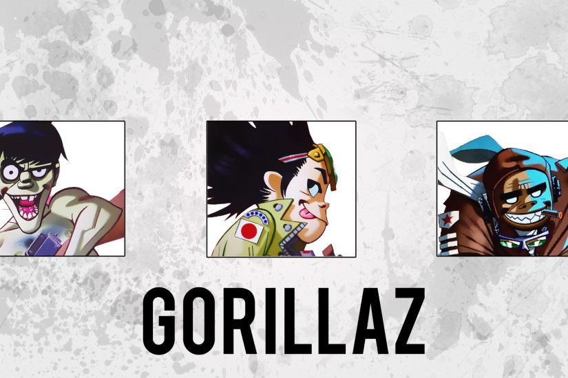 Gorillaz wallpaper I've made with the artwork so far - [1920x1080]