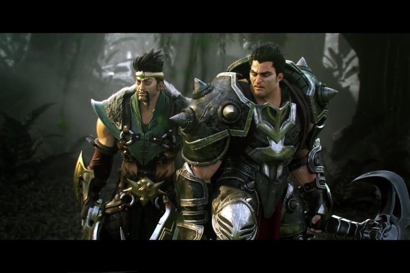 Darius, Draven, League Of Legends, Dark Brotherhood Wallpaper HD