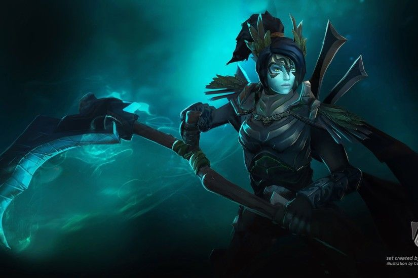 Unique Mortred Dota 2 Phantom assassin Scythe Wallpaper Hd