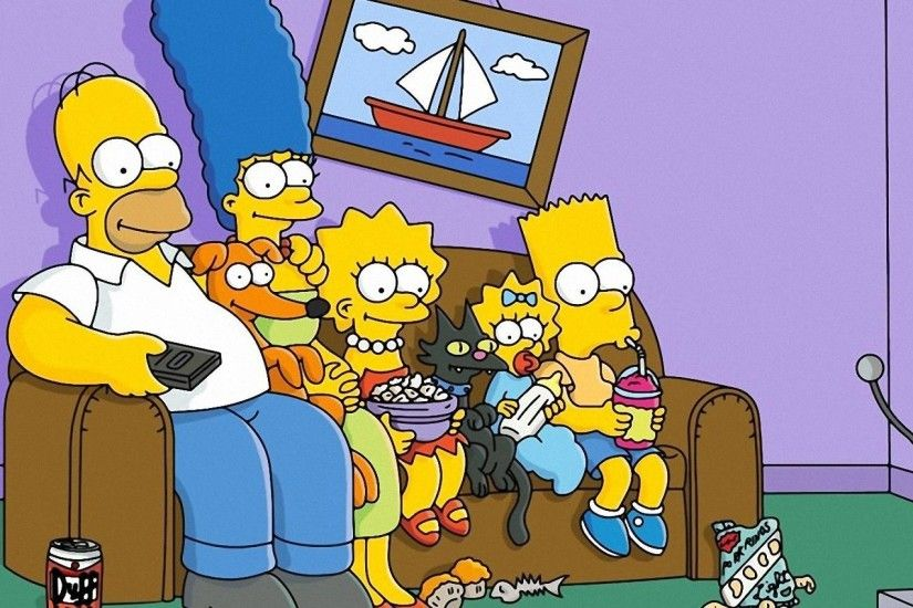 Wallpapers For > Simpsons Wallpaper Hd Mac