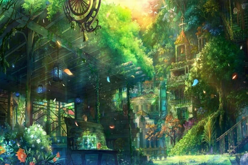 Anime City Wallpaper Iphone Free Download Wallpapers Background 1920x1080  px 1.53 MB Anime Music Scenery Action