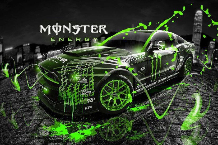 Monster Energy Ford Mustang GT Fantasy Acid Car 2013 Â« El Tony