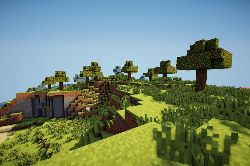 Minecraft Shaders Background 22 Wallpapers