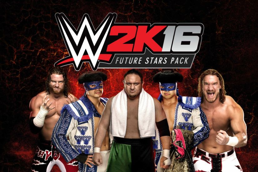 WWE2K16 Wallpaper FutureStarsPack