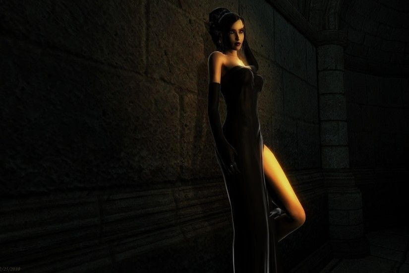 Dark Elegance wallpaper from Gothic Girls wallpapers