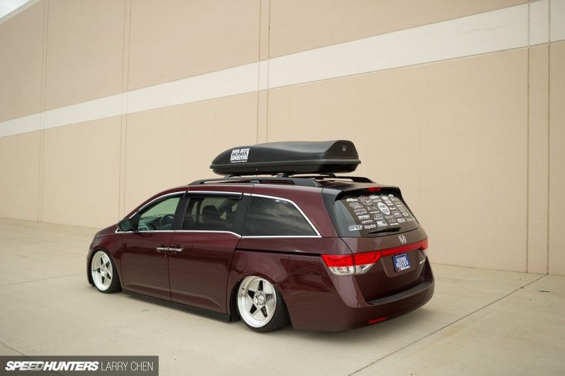 Honda Odyssey minivan van hot rod rods tuning lowrider 1000HP h wallpaper  background