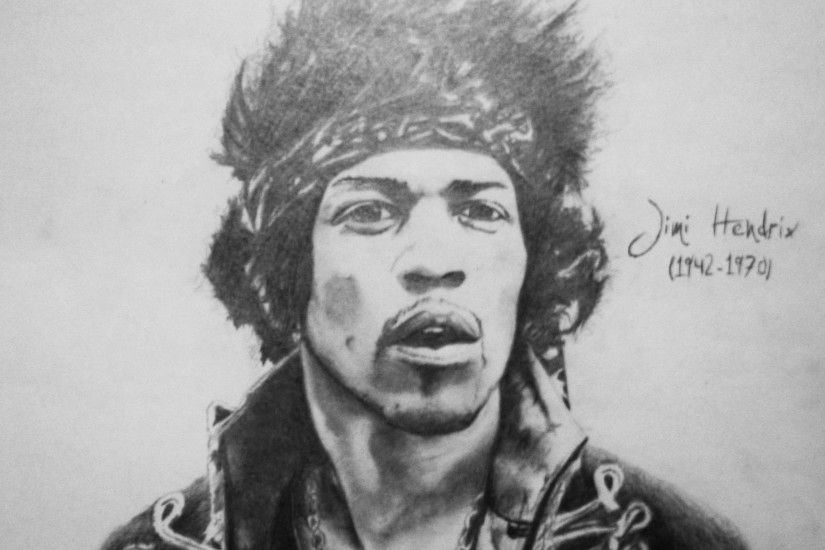 I'm a huge huge fan of Jimi Hendrix, so I decided to do this drawing! See  my other drawing of Jimi H.