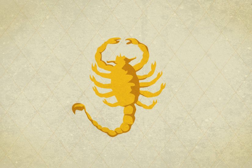 Scorpion wallpaper