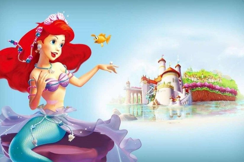 Tags: 1920x1080 Ariel Disney Princess