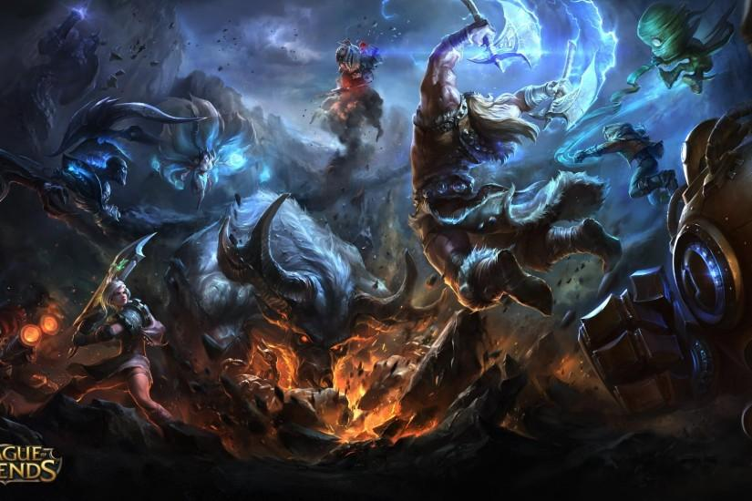 popular league of legends backgrounds 1920x1080 for ipad