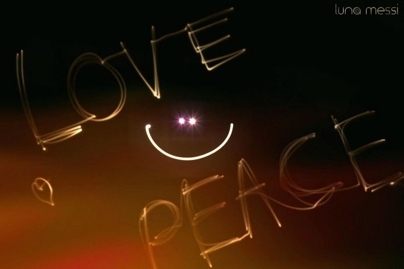 Peace And Love Hd 1814 Desktop Backgrounds | Areahd.