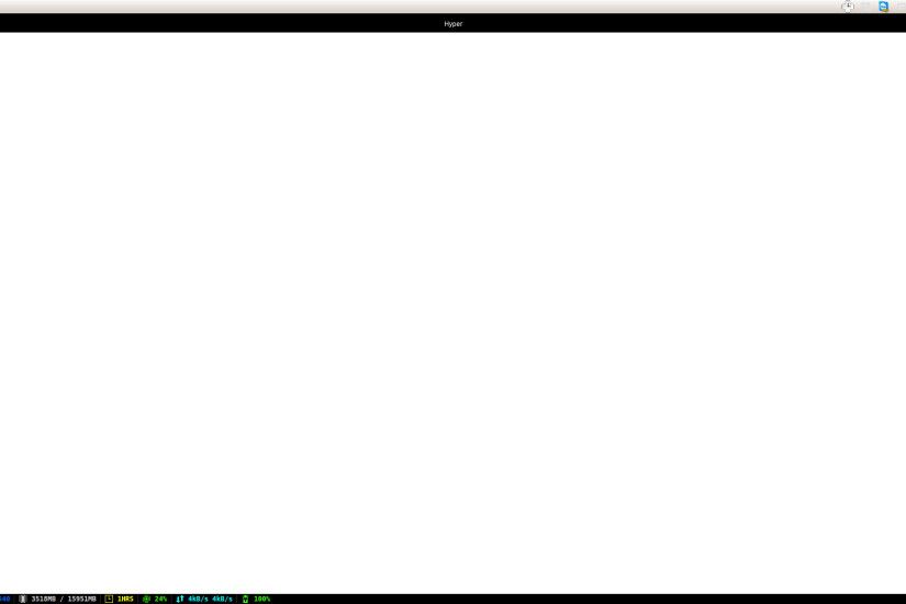 I am experiencing this white screen whenever I try to open a website on  HyperTerm and on Franz. I'm running Ubuntu 16.04. Is this a dependency  issue on the ...