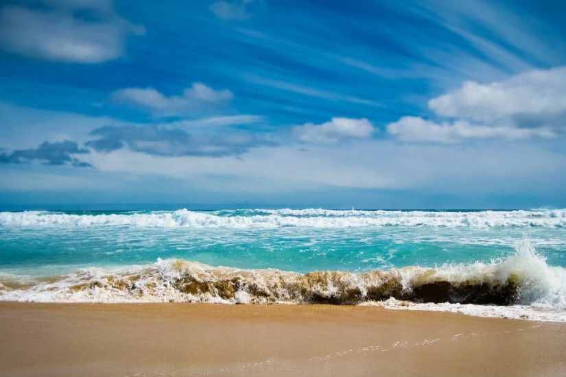 2560x1440 Wallpaper ocean, sea, gulf, waves, blue water, coast, beach