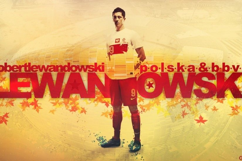 poland borussia dortmund robert lewandowski 1440x900 wallpaper Art HD  Wallpaper
