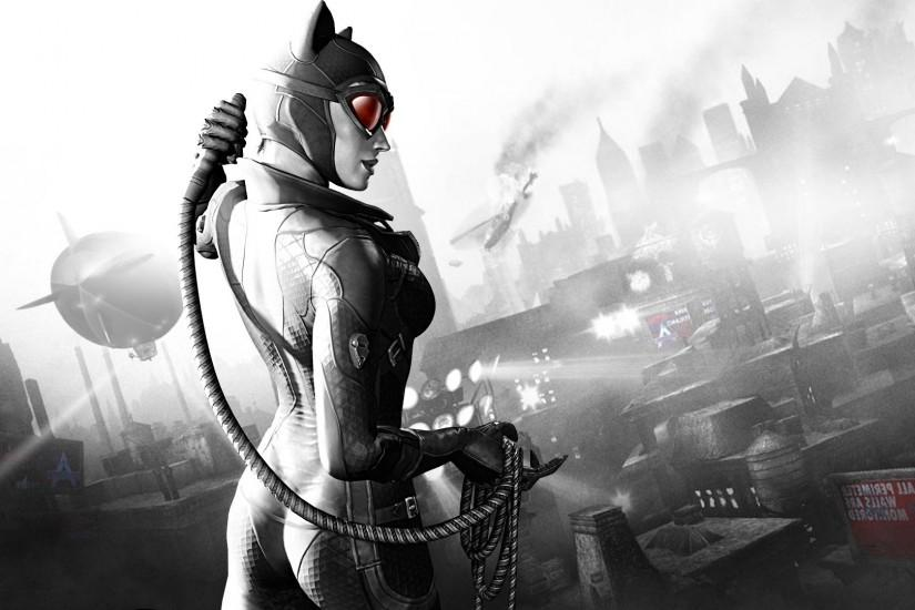 Batman: Arkham City, Catwoman Wallpaper HD