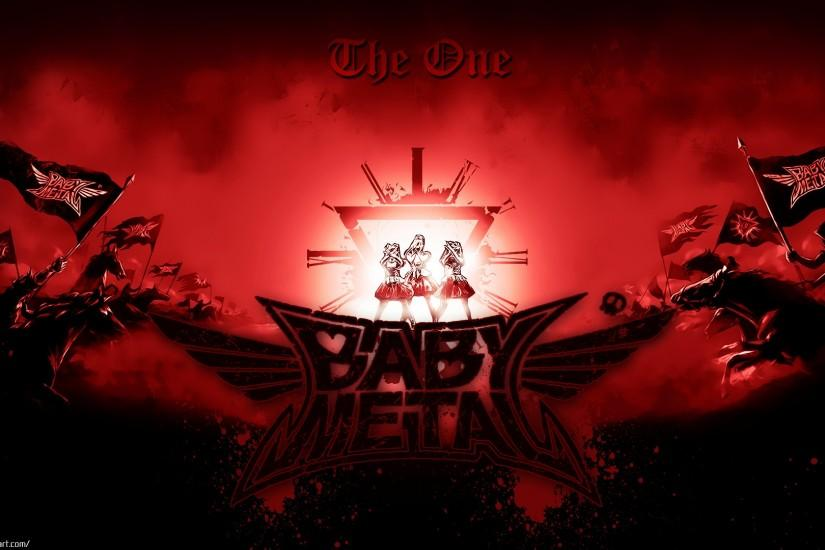babymetal wallpaper 02 the one ver 2 by uhej customization wallpaper .