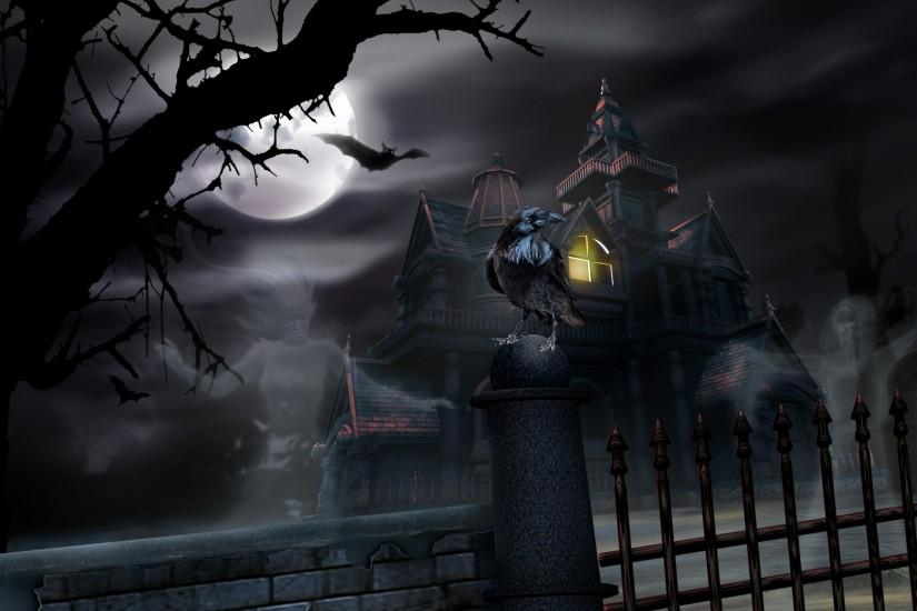 ... Halloween Ghost Wallpaper (15) ...