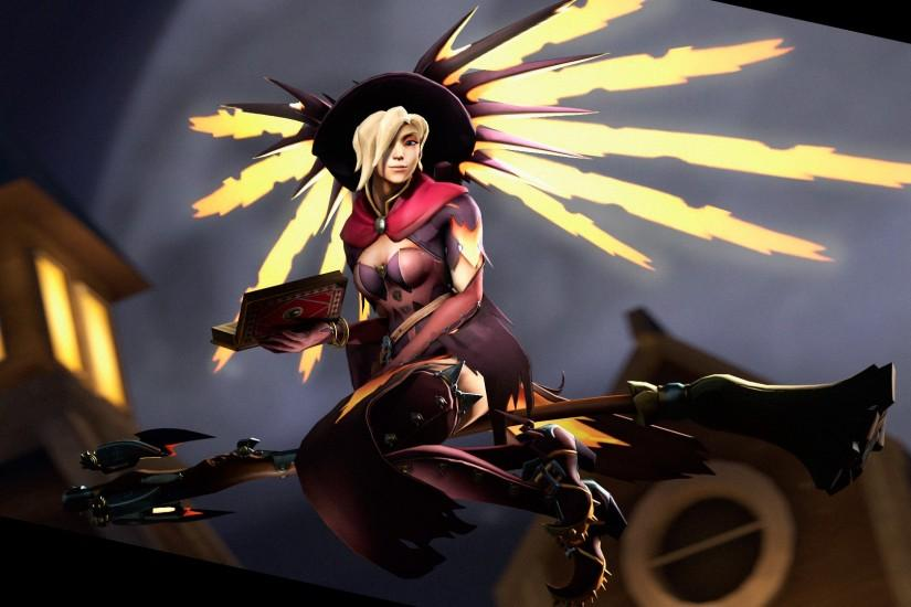 popular overwatch mercy wallpaper 1920x1080 for pc