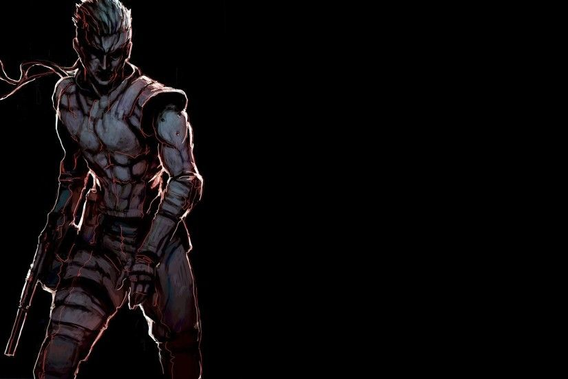 fan Art, Video Games, Solid Snake, Metal Gear Solid Wallpapers HD / Desktop  and Mobile Backgrounds