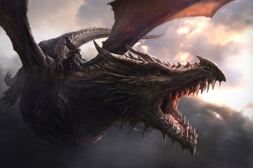 dragon, Game Of Thrones, Balerion Wallpapers HD / Desktop and Mobile  Backgrounds