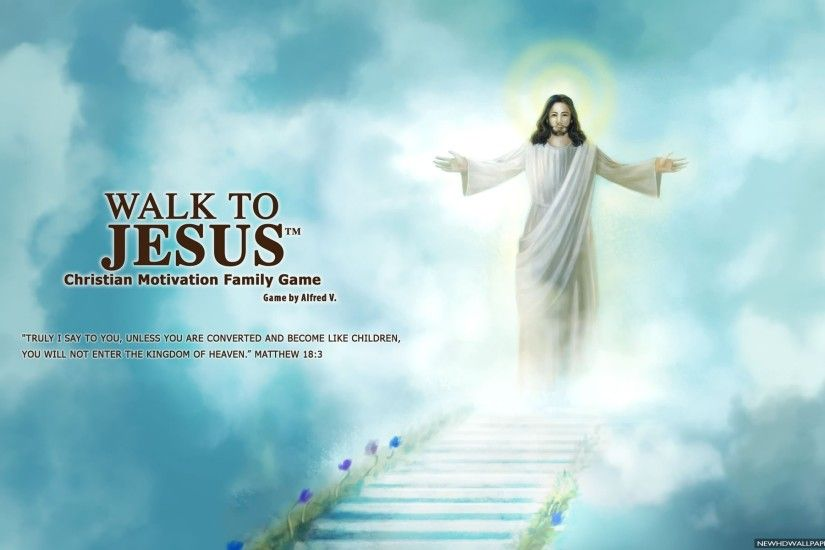 Walk To Jesus Quote HD Wallpapers - New HD Wallpapers