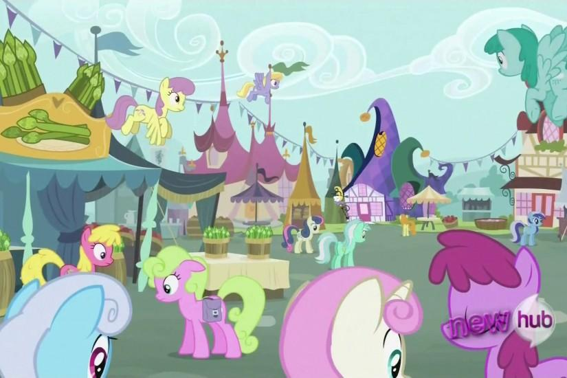 Background ponies in the market S2E23.png