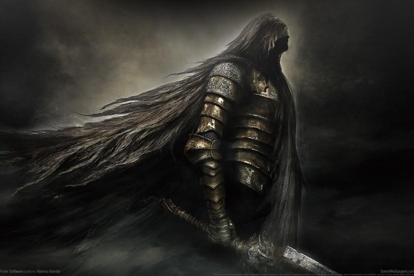 Video Game - Dark Souls II Video Game Fantasy Armor Weapon Sword Wallpaper