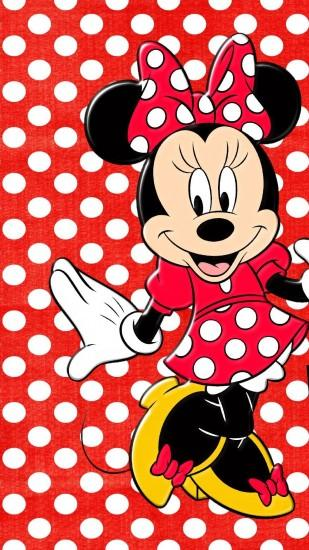 minnie mouse - Tap to see more cute cartoon wallpapers! - @mobile9
