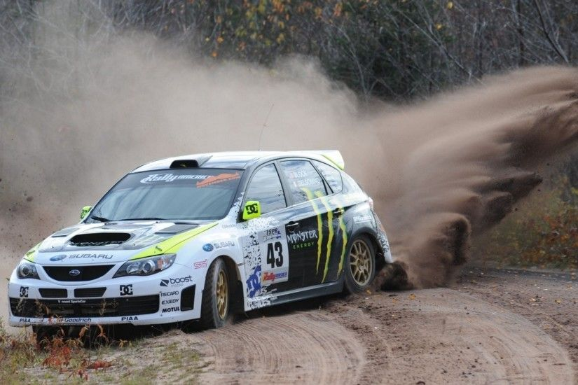 Drifting cars Ken Block Subaru Impreza WRC - Rally Car Wallpaper .