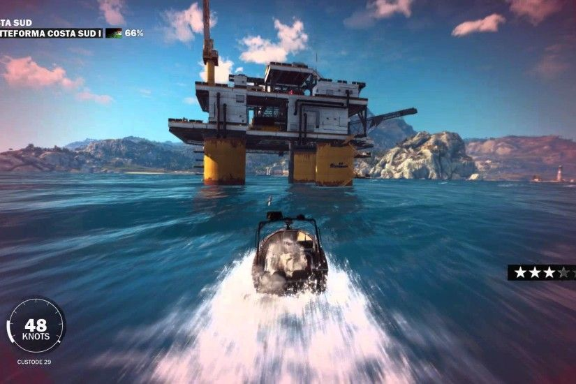 Oil Rig Take Down- Pc Gameplay (Just Cause 3 Pc Gameplay) 1080p 60fps (MAX  OUT)