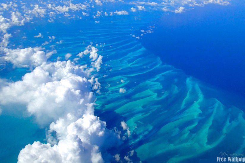Bahamas Blues Wallpaper