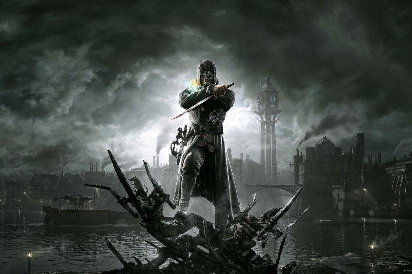 2012 Dishonored Video Game Wallpaper for 2560x1440