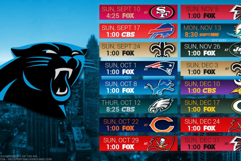 Carolina Panthers 2017 schedule city football logo wallpaper free pc  desktop computer ...