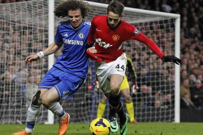 David Luiz Vs Manchester United Wallpaper Football HD Wallpapers