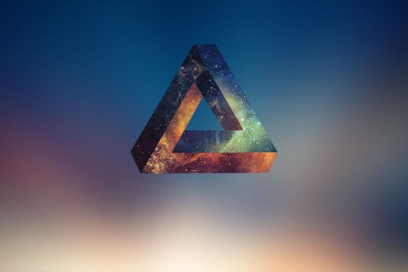 Penrose Triangle, Abstract, Geometry Wallpapers HD / Desktop and Mobile  Backgrounds