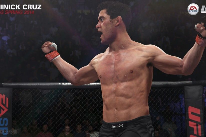 EA Sports UFC Screenshots - Dominick Cruz, Josh Thomson, Ronaldo Souza &  Nate Diaz