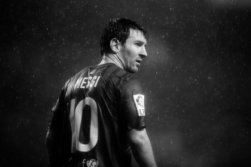lionel messi wallpaper-hd black white photo