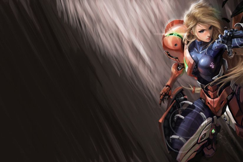 Samus Aran Suits Wall by Maleficent84 on DeviantArt ...