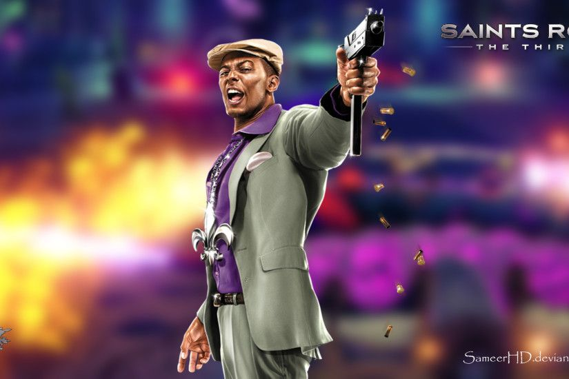 ... Saints Row III Pierce Washington Wallpaper by SameerHD