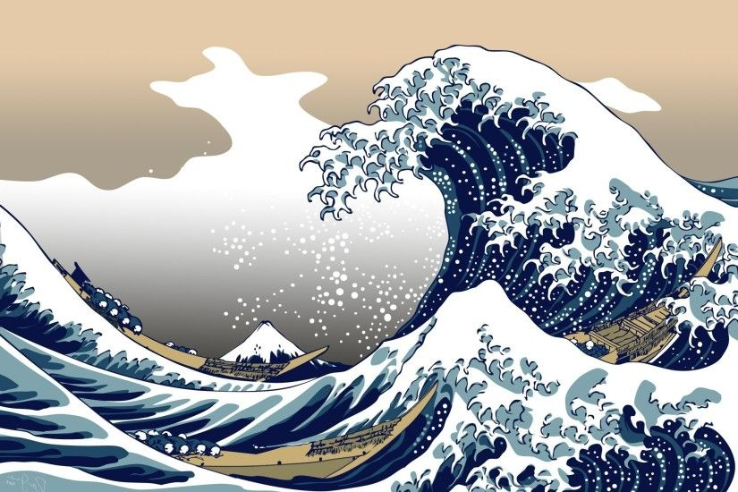 nature, Blue, The Great Wave Off Kanagawa Wallpapers HD / Desktop and  Mobile Backgrounds