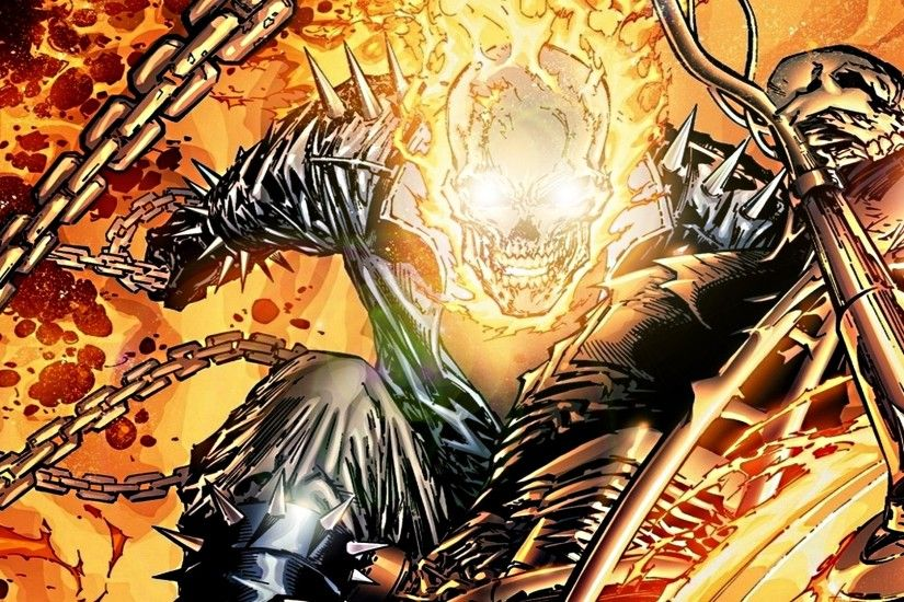Wallpaper Ghost rider, Marvel spotlight, Marvel comics HD, Picture, Image