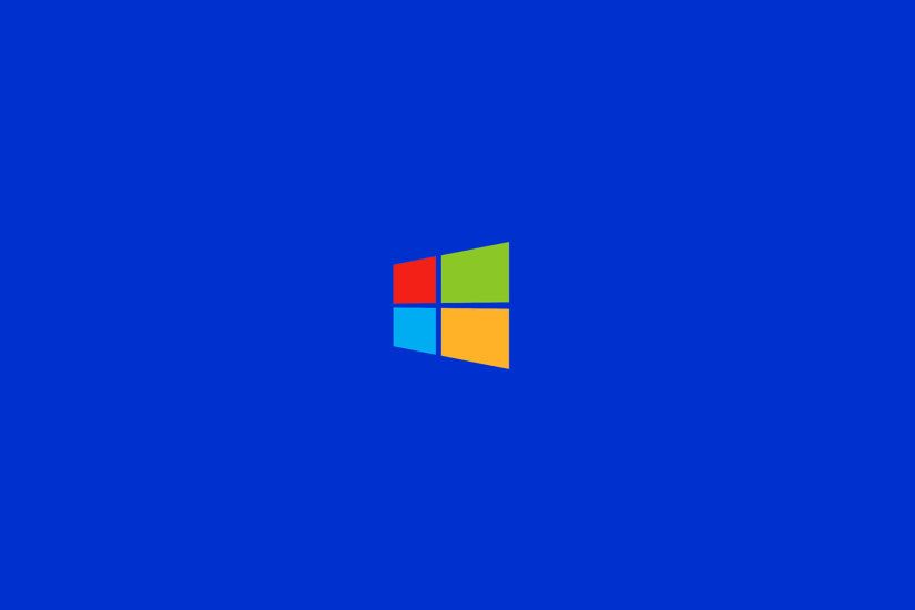 Computers Microsoft Windows Operating Systems Simple Background 8 Logo