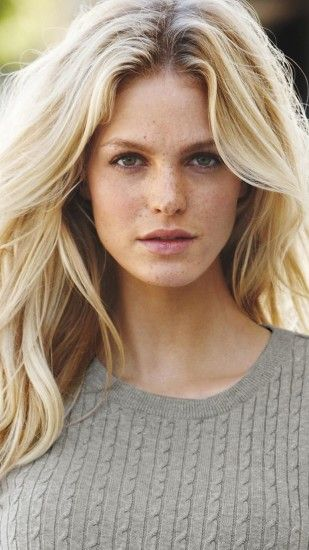 2160x3840 Wallpaper erin heatherton, actress, blonde, sweater