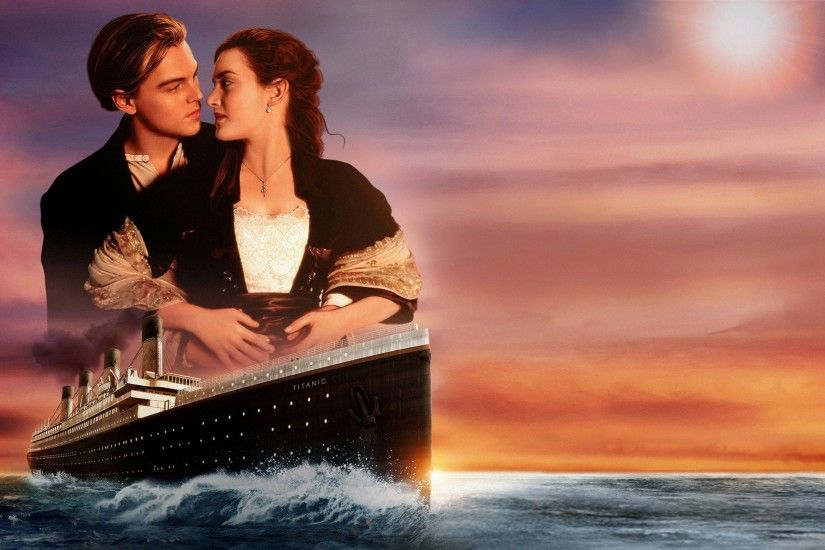 Ship Rose Leonardo DiCaprio Kate Winslet Titanic love sunset couple Jack  Dawson wallpaper | 2560x1600 | 502023 | WallpaperUP