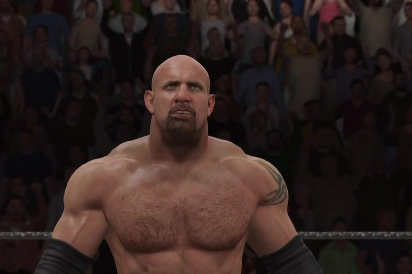 Watch: Who wins when Goldberg and Brock battle in WWE 2K17?