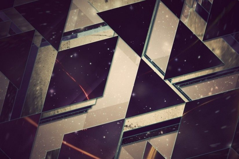 Preview wallpaper triangles, background, light 1920x1080