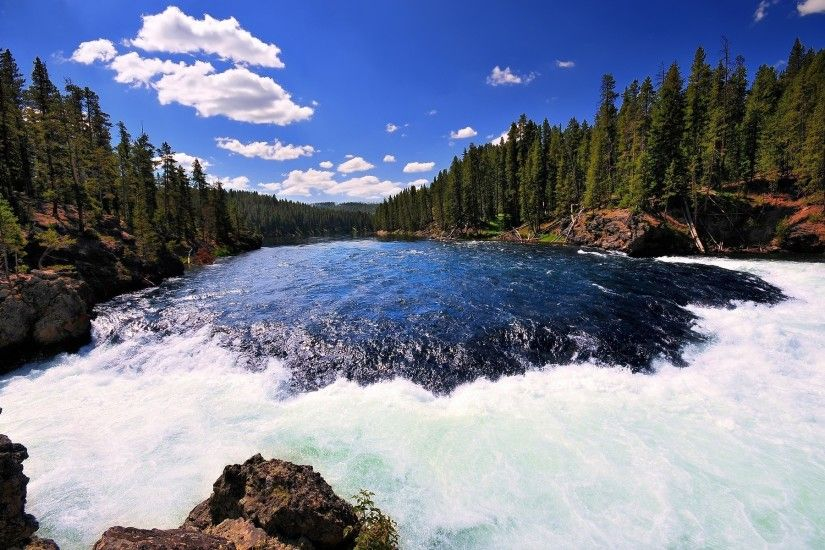 river Yellowstone, Yellowstone national park
